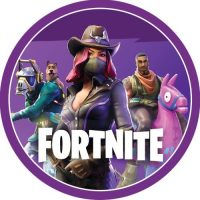 Fortnite Party - Cake Decoratiing