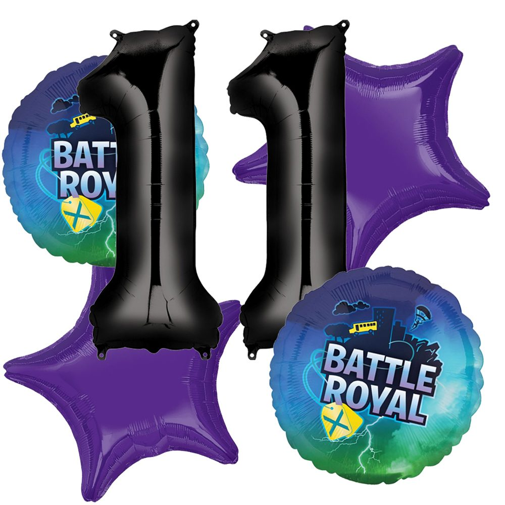 fortnite party balloons age 11 arrangement